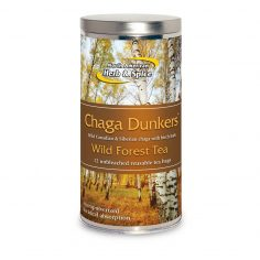 Chaga Dunkers tea container wild forest tea